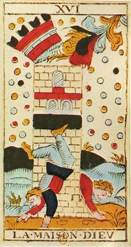 Tarot des barjos Maison_Dieu_lame2