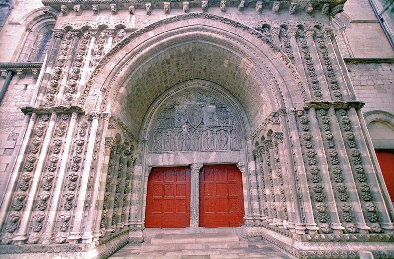 Les baladins de la tradition l 39 histoire du portail nord de la cath drale de cahors - Cathedrale saint etienne de cahors ...