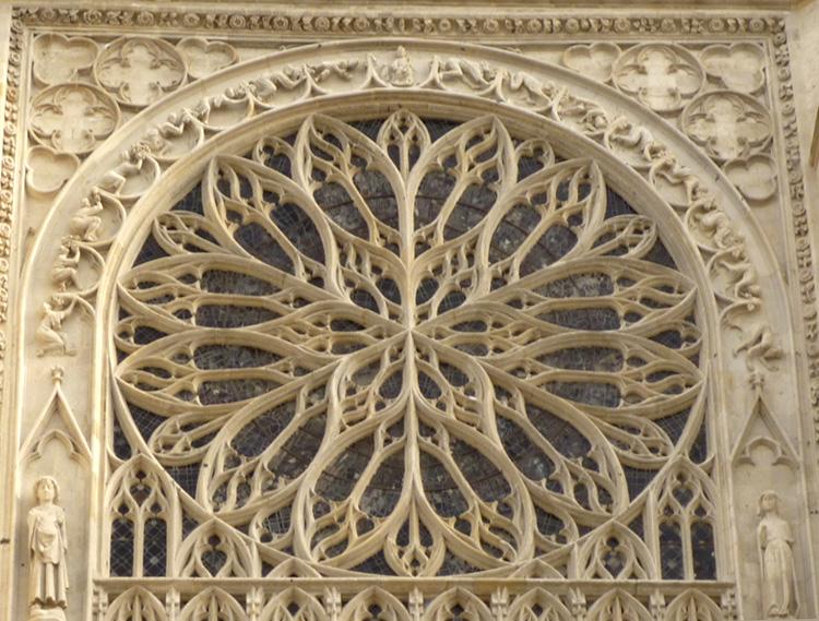 Rose Sud de la cathédrale d'Amiens